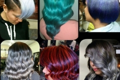 Vivid Hair Color and Creative Cuts in Atlanta by Dee at The Cherry Blossom Salon