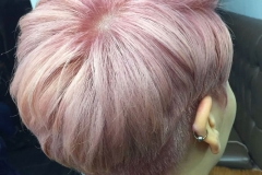 Pretty Pink Pixie Haircuts and Color in Atlanta by Dee at The Cherry Blossom Salon