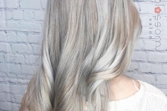 Icy Blonde Hair Color in Atlanta by Jessica at The Cherry Blossom Salon