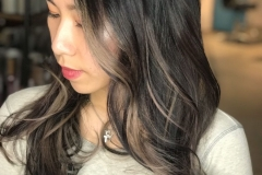 Mushroom Brown Blonde Hair Color in Atlanta by Jessica at The Cherry Blossom Salon