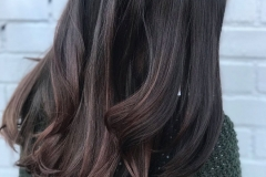 Soft Brunette Balayage in Atlanta by Jessica at The Cherry Blossom Salon