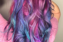 Pastel Vivid Hair Color in Atlanta by Jessica at The Cherry Blossom Salon