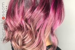 Shadow Root Vivid Hair Color in Atlanta by Jessica at The Cherry Blossom Salon