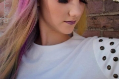 Vivid Bright Hair in Atlanta by Jessica at The Cherry Blossom Salon
