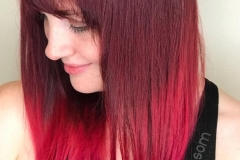 Vivid Colormelt Ombre Hair in Atlanta by Jessica at The Cherry Blossom Salon