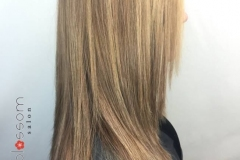 Medium Blonde Balayage in Atlanta by Keirsta at The Cherry Blossom Salon