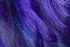 Vivid Bright Purple Hair in Atlanta by Keirsta at The Cherry Blossom Salon