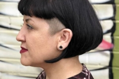 Razor and Under Cut Hair in Atlanta by Keirsta at The Cherry Blossom Salon