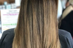 Dark Blonde Balayage in Atlanta by Keirsta at The Cherry Blossom Salon