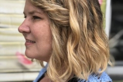 Dark Blonde Balayage in Atlanta by Keirsta at The Cherry Blossom Salon