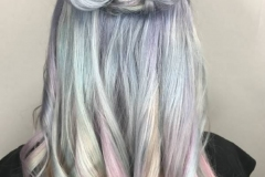 Holographic Hair Color in Atlanta by Keirsta at The Cherry Blossom Salon