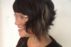 Women's Creative Bob Hair Cuts in Atlanta by Keirsta at The Cherry Blossom Salon