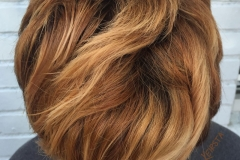 Chestnut Hair Color in Atlanta by Keirsta at The Cherry Blossom Salon