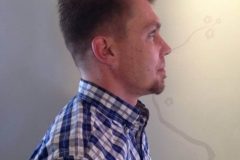 Men's Hair Cuts in Atlanta by Keirsta at The Cherry Blossom Salon