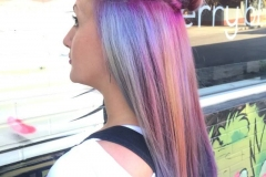 Mermaid Hair Color in Atlanta by Keirsta at The Cherry Blossom Salon