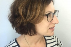Medium Brown Highlights in Atlanta by Keirsta at The Cherry Blossom Salon