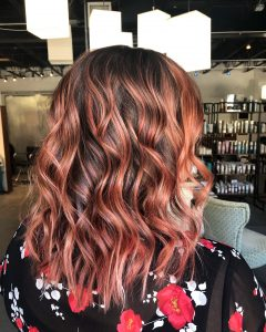 Rose Gold Balayage Atlanta