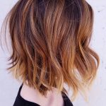 auburn balayage pretty copper highlights