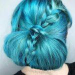 blue hair braid atlanta