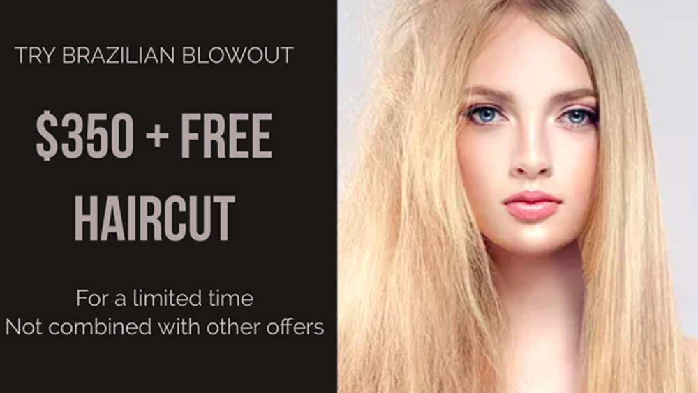 Try a Brazilian Blowout and Get a Free Haircut